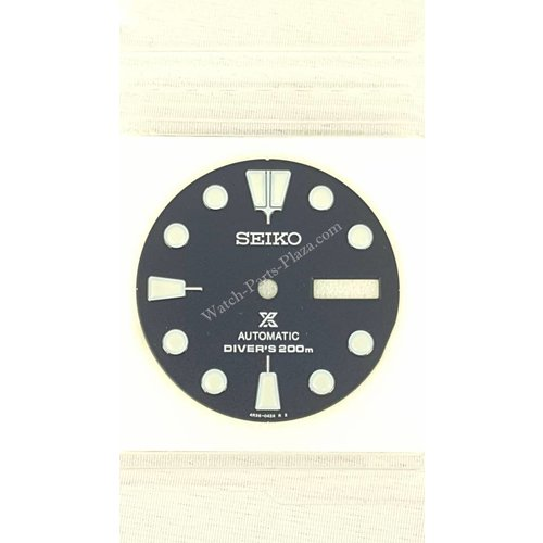 Seiko SRP773 Wijzerplaat 4R36-04Y0 - Turtle Diver Blue