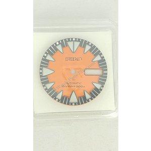 Seiko SRP315 Wijzerplaat 4R36-01J0 Monster Oranje