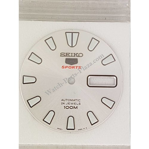 Seiko SRP163J1 esfera blanca Seiko 4R36-00B0