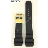Seiko SEIKO SRPA82 Black Silicon Watch Band 22 mm