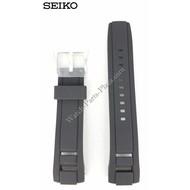 Seiko SEIKO Velatura Black Silicon Watch Band 22 mm SNP101