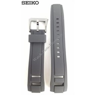 Seiko SEIKO Yachting Horlogeband Zwart 22mm 7T84-0AE0