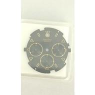Seiko ORIGINAL SEIKO QUARTZ BLACK DIAL for 7A34-7010 Seiko Quartz Chronograph S23208J1