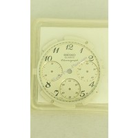 ORIGINAL SEIKO QUARTZ WHITE DIAL for 7A28 6020 Seiko Quartz Chronograph SCAY990