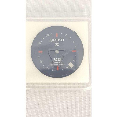 Seiko SEIKO PROSPEX KINETIC DIVER PADI BLACK DARK BLUE DIAL SUN065 5M85 0AB0 SPECIAL