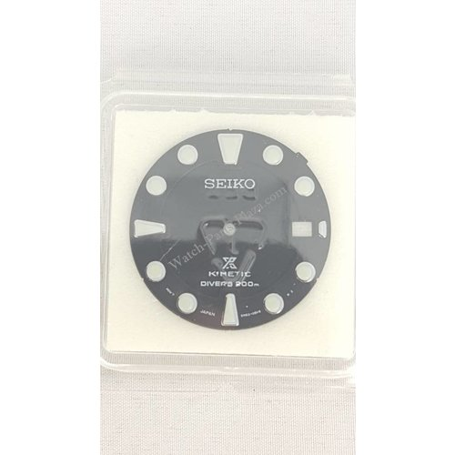 Seiko SEIKO SBCZ011 SKA371 Dial 5M62 0BL0 Genuine Black Prospex Kinetic