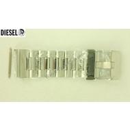 Diesel DIESEL WATCH BAND STEEL DZ4160 Half Bracelet DZ4159 DZ-4160 Freak Of Nature NOS