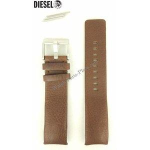 Diesel Diesel DZ4038 Faixa de relógio 22mm Couro preto Original NEW STRAP DZ4041 DZ 4038