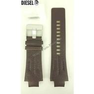 Diesel Diesel DZ4128 Watch Band Dark Brown Leather Original NEW STRAP DZ 4128 Bracelet