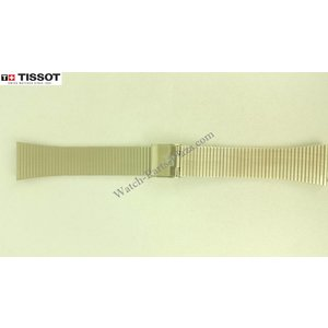 Tissot Tissot Seastar A550X Watch Band Grey Stainless Steel 18 mm