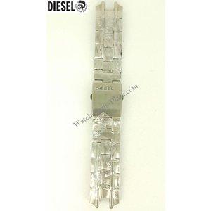 Diesel Diesel DZ7056 horlogeband roestvrij staal