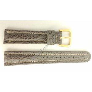 Seiko SEIKO 6F24 7010 horlogeband 6M25 6000 grijs leer 20 mm