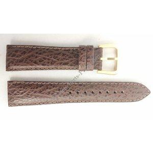 Seiko SEIKO 5Y23-6150 Watch Band SCZ312 Brown 20 mm