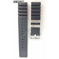 SEIKO horlogeband SBDC007 zwart rubber 6R15 01D0 22 mm