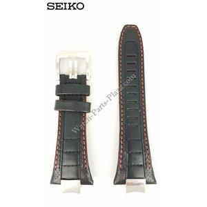 Seiko Seiko 7T62 0JV0 Banda de reloj 14 mm SPC047P2 SNAD23P2