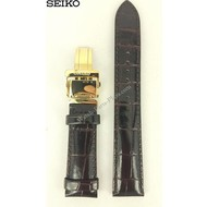 Seiko SEIKO ALPINIST SARB066 BROWN LEATHER WATCH BAND COCKTAIL TIME STRAP DO152 W 20