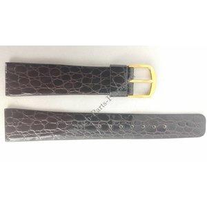 Seiko Correa SEIKO H249 5010 / 5P39 / 7F38 cuero marrón 18 mm