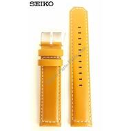 Seiko Horlogeband Seiko SSC081P2 Solar 21mm V172 0AG0 Bruin