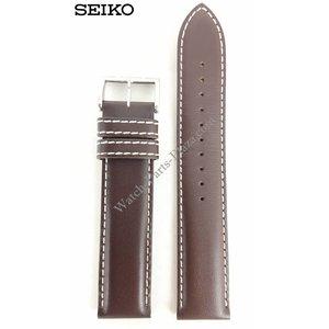 Seiko Seiko SSC013P1 Banda de reloj V172-0AC0 marrón