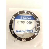 Seiko SEIKO SNZF11J1 SNZF17J1 SNZF19 5 SPORTS BLACK ROTATING BEZEL 7S36 03C0 ORIGINAL