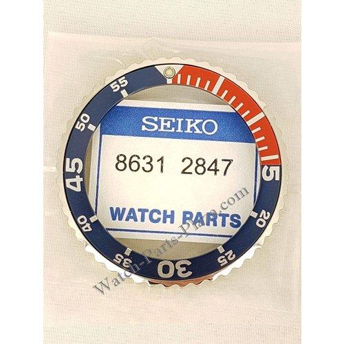 Seiko SEIKO 5M62 0A10 rotating pepsi bezel SKA299