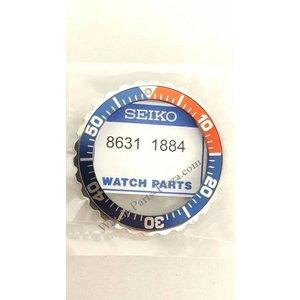 Seiko SEIKO 5M43-0A40 Pepsi Moldura Rotativa SKJ115, SMY003P1