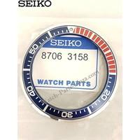 Bezel for Seiko SRPB53 - Blue & Red - Prospex Samurai - 4R35 O1VO