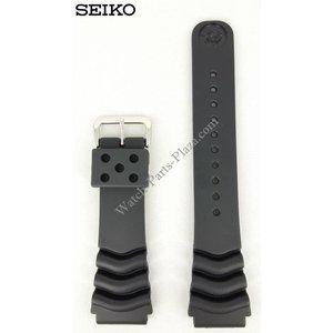 Seiko Seiko Diver schwarz Kautschukband 22mm 7S26 7020 SKX171 SDS099 Armband 7002 7029
