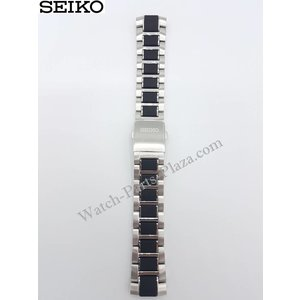 Seiko Bande de montre SNP119P1 Seiko Yachting en acier inoxydable SPC145P1 5D44-0AJ0