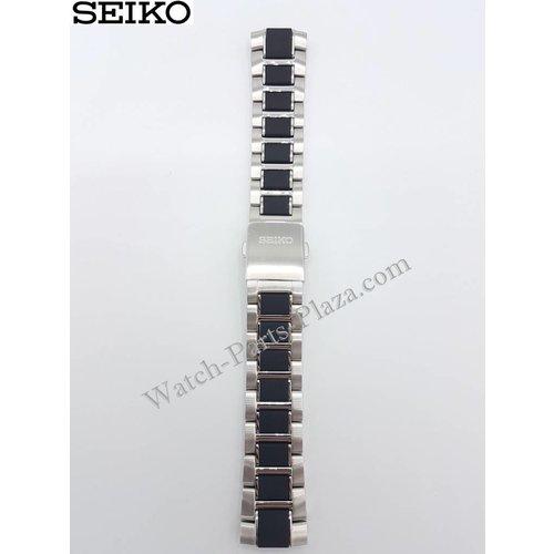 Seiko Watch Band SNP119P1 Seiko Yachting SPC145P1 Stainless Steel 5D44-0AJ0