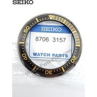 SEIKO SAMURAI PROSPEX SRPB55K1 BLACK & GOLD BEZEL 4R35-01V0 SCUBA DIVER SRPB55