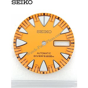 Seiko SEIKO SRP309K1 2ND GENERATION ORANGE MONSTER DIAL 4R36-01J0 ORIGINAL SRP309J1