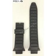 Breil Breil Milano Eros BW0308 Watchband Replacement BW0309 Black Rubber Strap BW0368