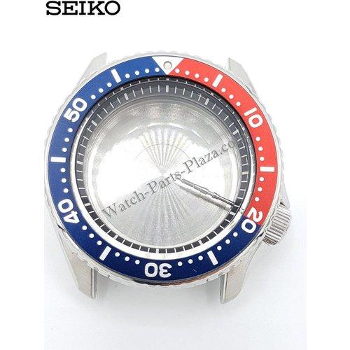 Seiko SEIKO SKX009 PEPSI DIVER 7S26-0020 CAJA DE RELOJ SKX009J1 SKX009K1 COMPLETO
