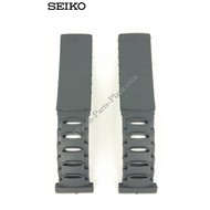 Seiko Seiko 5M42-0E30 horlogeband 5M42-0E39 Sillicon-band 4GC9 BA 19 mm origineel