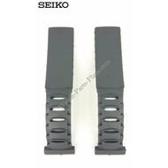 Seiko Seiko 5M42-0E30 Watch Strap 5M42-0E39 Sillicon Band 4GC9 BA 19 mm Genuine