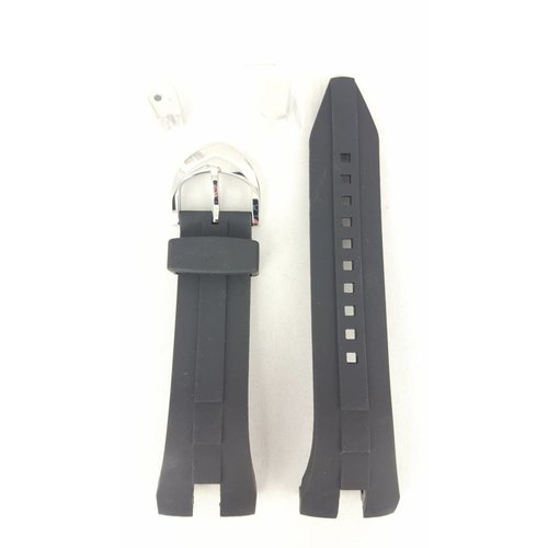 Seiko Seiko SRN011 SRN013 Uhrenarmband 5M54 0AB0 schwarz Sillicon 26mm