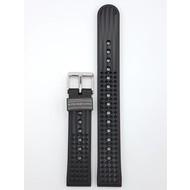 Seiko SEIKO SLA017 62MAS REEDITION WATCH BAND 8L35-00N0 BLACK SILICON STRAP SLA017J1