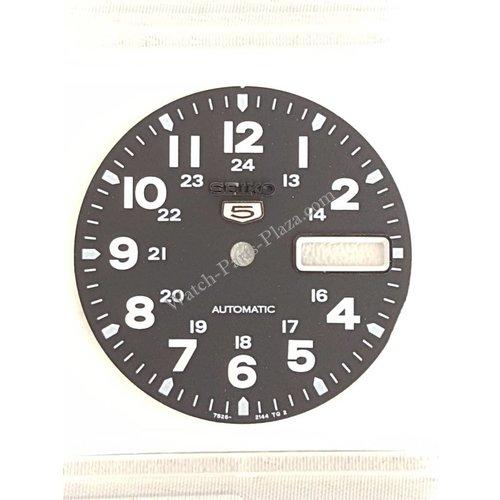 Seiko SEIKO 5 SNX809 MILITARY BLACK DIAL 7S26-0480 7S26-3040 GENUINE SNX809K1