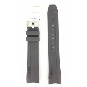 Tissot Tissot PRC-200 Bracelet de Montre T055417 Zwart Caoutchouc 19mm T Sport