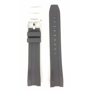 Tissot Tissot PRC200 - T055417A Uhrenarmband Schwarz Silikon 19 mm