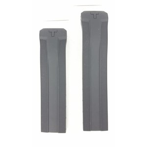 Tissot Tissot T091420A - Expert Solar Pulseira De Relógio Preto Silicone 22 mm