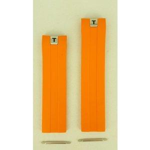 Tissot Tissot T076417 - Tony Parker T-Sport Uhrenarmband Orange Silikon 21 mm