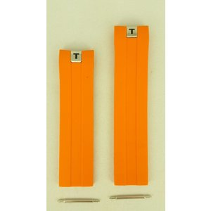Tissot Tissot Tony Parker T076417 horlogebandje PRS 330 oranje band 21 mm BH TP 12