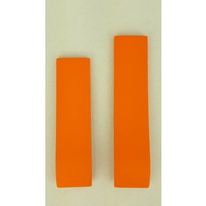Tissot Tissot T472 - T011417 Nicky Hayden Uhrenarmband Orange Silikon 20 mm