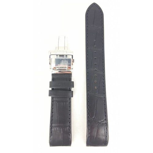 Seiko Seiko SPB005 Horlogeband 6R20-00A0 21 mm zwart leer