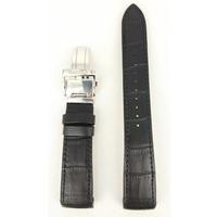 Seiko Premier SRX003 / SRL021 / SRN005 / SPC005 Correa de reloj de cuero negro 21mm