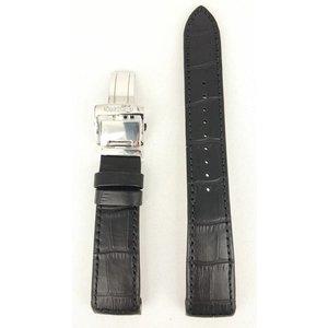 Seiko Seiko Premier SRX003 / SRL021 / SRN005 / SPC005 Correa de reloj de cuero negro 21mm