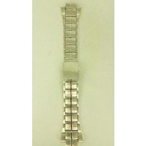 Seiko Faixa de relógio Seiko SNL015P1 7L22-0AD0 15mm