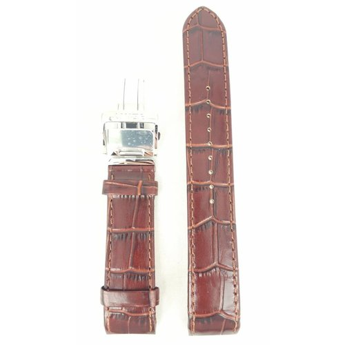 Seiko Seiko SPB003J1 Watch Band 6R20-00A0 21 mm Brown Leather